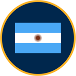 Argentina flag graphic