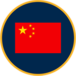 China flag graphic