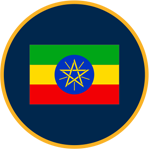 Ethiopia flag graphic