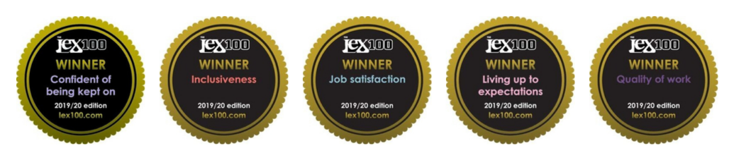 Lex 100 awards