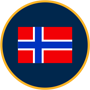 Norway flag graphic