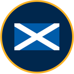 Scotland flag graphic