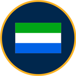Sierra Leone flag graphic