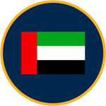 Dubai flag graphic