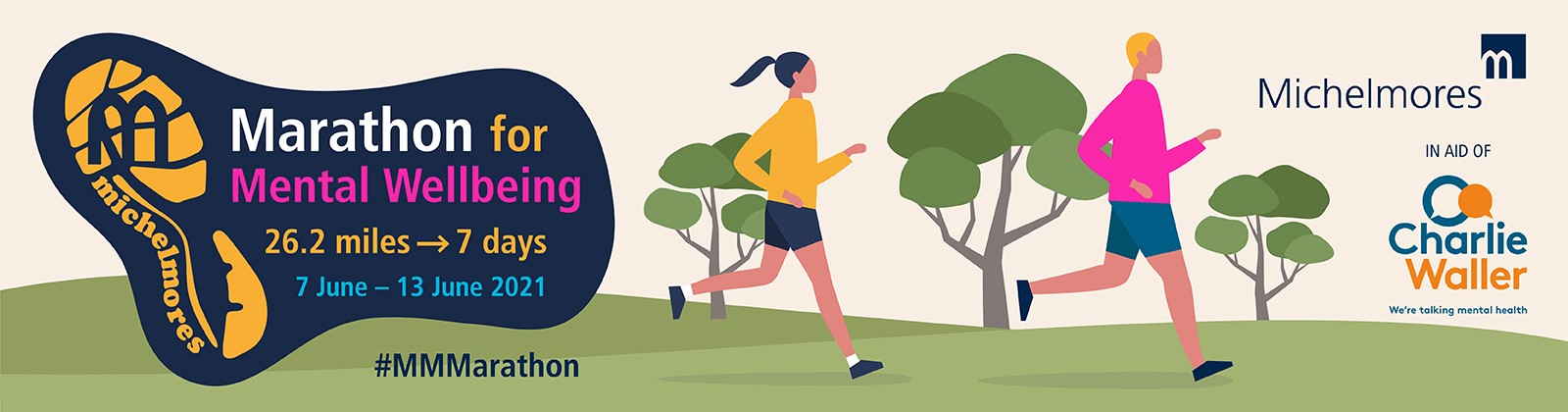 The Michelmores Marathon for Mental Wellbeing 2021