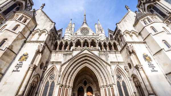 Photo of the Royal Courts of Justice