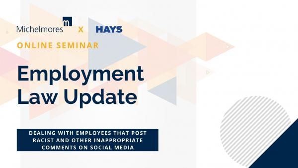 How to deal with racist and other inappropriate comments on social media by employees