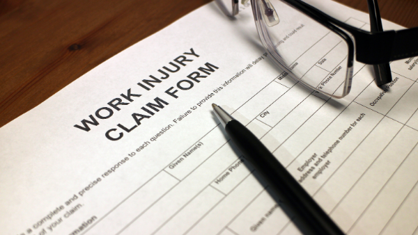 A work injury form
