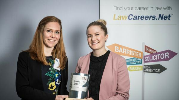 Law Careers.net award winners