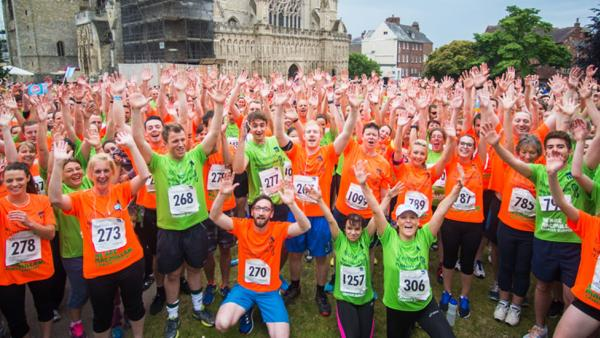 Michelmores Charity of the Year   Michelmores Charity Run   Macmillan Cancer Support