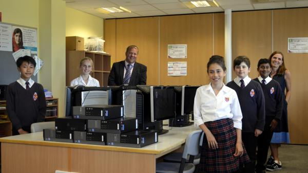 Michelmores donates over a hundred PC's and monitors to schools in Exeter, Bristol and London