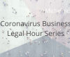 poster for Michelmores Coronavirus Business Legal Hour Series