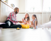 What problems might arise between separated parents?